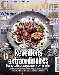 cuisines et vins réveillons extraordinaires avec le magazine cuisine et vins de