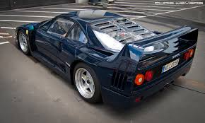 blue f40 f40 this might be the only blue f40 pozzi blue is flickr