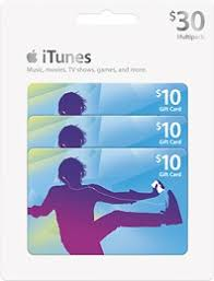 gift card packs apple itunes 10 gift cards 3 pack itunes 3 p best buy