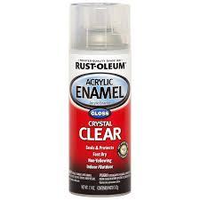 shop rust oleum automotive clear enamel spray paint actual net