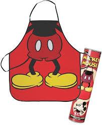 cuisine mickey tablier disney corps de mickey mouse cuisine tabliers de