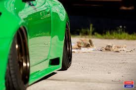 porsche signal green slammered u0027s