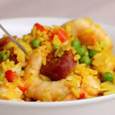 plat a cuisiner rapide one pan spicy prawns and rice tasty recettes