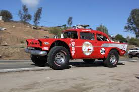 chevy baja truck street legal wrecking and racing a 1957 chevy at the 2015 norra mexican 1000 will