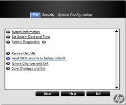 reset bios without display solved reset bios password elitebook 8540w hp support forum 927153