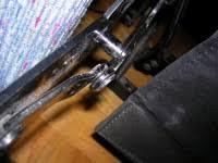 Recliner Chair Handle Broken Slightly Off Kilter Harry U0026 Harriet Homeowner Repair Their La Z
