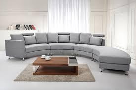 Corner Sofa Ebay Grey Fabric Upholstered Corner Sofa 7 Seater Couch Large Circle