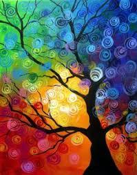 Paint Colorful - colors swirls u0026 tree art inspirations pinterest artsy