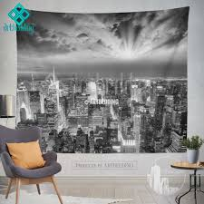 wall murals wall tapestries canvas wall art wall decor tagged manhattan nyc monochromatic cityscape wall tapestry sunset over manhattan cityscape wall decor new york artbedding cityscape wall decor