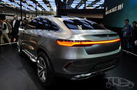 suv benz mercedes benz concept coupe suv at 2014 beijing auto show rear