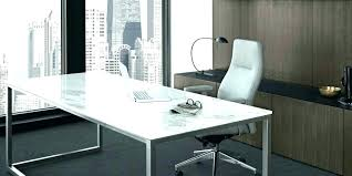 Home Office Glass Desks Glass Office Desk Furniture Contemporary L Shaped Glass Top