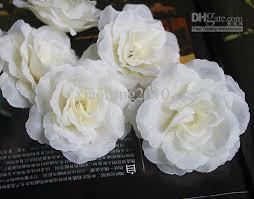 cheap artificial flowers mixed order 100pcs 9cm artificial silk flower feather brooch