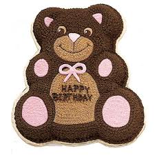 huggable teddy bear cake wilton