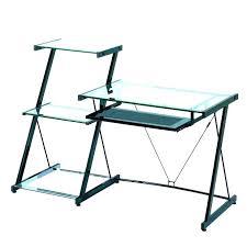 Glass Desk Office Depot Target R Desk Glass Medium Size Of Desks