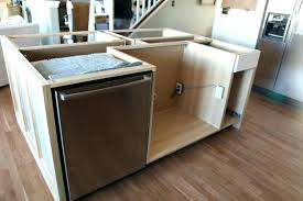 installing a kitchen island install kitchen island install kitchen island base cabinets hack