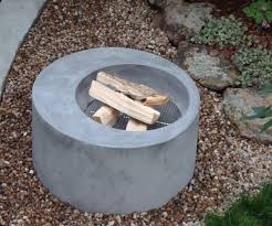 How To Build Fire Pit On Concrete Patio Best 25 Concrete Fire Pits Ideas On Pinterest Contemporary
