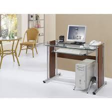 glass top computer desk furniture techni mobili desk techni mobili desk techni mobili with