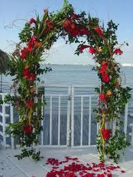 wedding arch nyc handmade paper flower wedding arch outdoor wedding decor