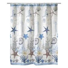 Beachy Shower Curtains Shower Curtain Free Home Decor Techhungry Us
