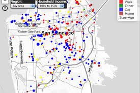 Berkeley Map New Animated Map Shows Traffic Patterns In Downtown Sf Curbed Sf