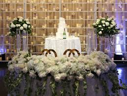 wedding backdrop greenery sweetheart table inspiration from real noor weddings noor