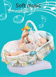 Newborn Baby Swing Chair Electric Baby Rocking Cradle Soft Newborn Infant Baby Swing Chair