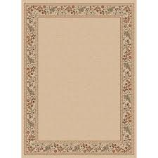 Home Depot Rugs Sale Tayse Rugs Sensation Ivory 7 Ft 10 In X 10 Ft 3 In Traditional