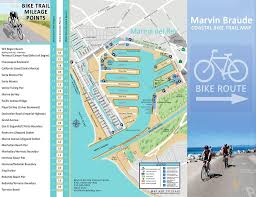 Map Of Venice Beach La County Beach Bike Path U2013 Beaches U0026 Harbors