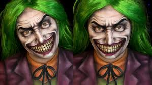 joker dc comics halloween makeup tutorial jordan hanz alex