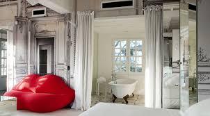 interior design soft red in interior design