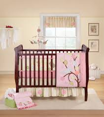 Ruffled Curtains Nursery by Baby Nursery Best Baby Room With Crib Bedding Sets For Girls