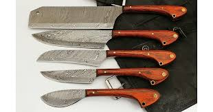 Damascus Steel Kitchen Knives Gladiators Guild Damascus Kitchen Knives Best Chef Knife For Sale