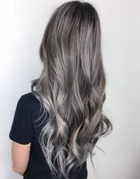 putting silver on brown hair 40 ideas of gray and silver highlights on brown hair