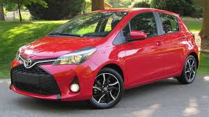 2015 toyota yaris se automatic manual start up road test and