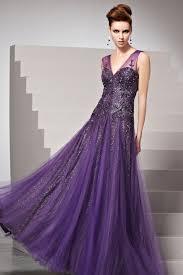 robe violette mariage robe violette longue au sol pailletée ornée de strass fr
