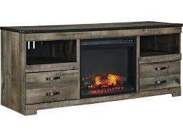 Corner Tv Stands With Fireplace - oak tv stand fireplace with built in electric entertainment inch
