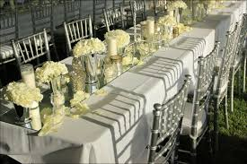 wedding decorations white and silver white and silver wedding