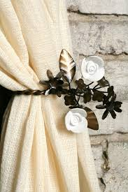 Hanging Curtain Tie Backs Decorating Ideas Awesome Window Accessories Decoration In Living