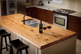 kitchen counter top ideas wooden kitchen countertops with chairs and stainless steel sink
