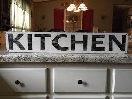 kitchen sign rustic kitchen sign farmhouse kitchen sign fixer