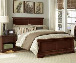 9025 devon full panel bed chestnut with trundle storage drawers