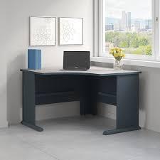 amazon com series a 48w corner desk in slate and white spectrum