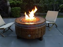 wine barrel fire table costco wine barrel fire pit awesome propane fire pit table propane
