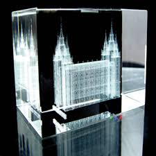 crystal decor salt l salt lake city temple cube in temple cubes ldsbookstore com rm