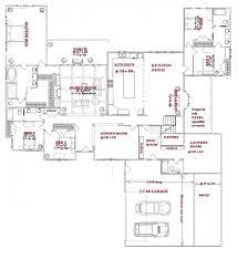 House Plans With Extra Large Garages Classy L Shaped House Plans Single Story Furniture Designs For L