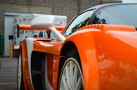 orange maserati insane ludicrous crazy 840hp edo competition maserati mc12 for sale