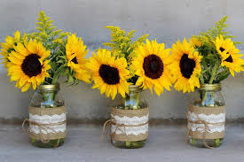 sunflower centerpiece celebration flair summery sunflowers