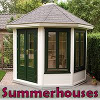 Summer Garden Houses - log cabins wooden garden sheds custom garden sheds