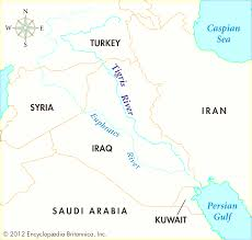 Iraq World Map by A Century Of U S Relations With Iraq Fair Map Iraq Rivers
