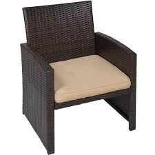 Wicker Outdoor Patio Furniture Sets - best choice products 4pc wicker outdoor patio furniture set